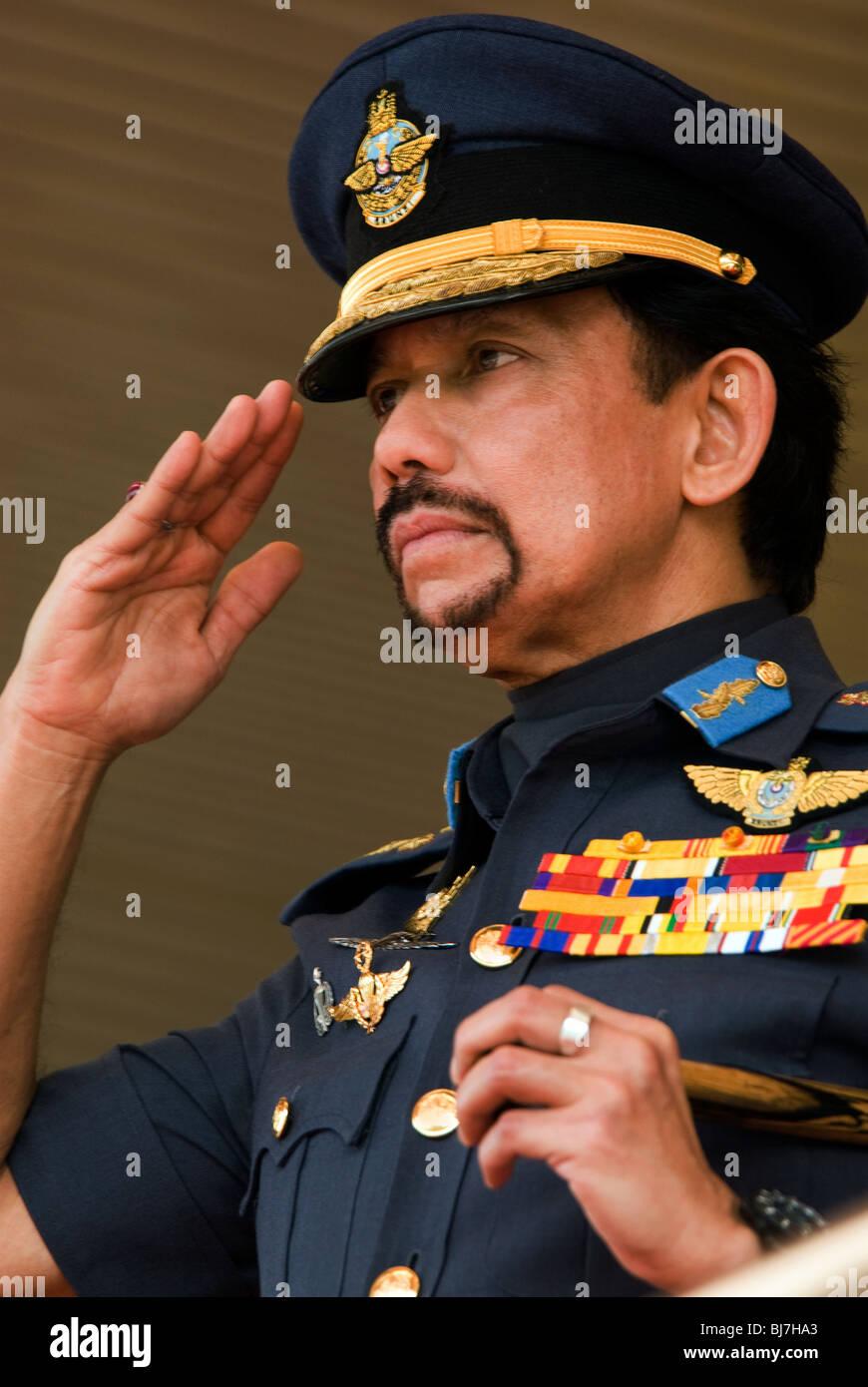 Sultan of Brunei, National Day, Brunei Darussalam - Stock Image