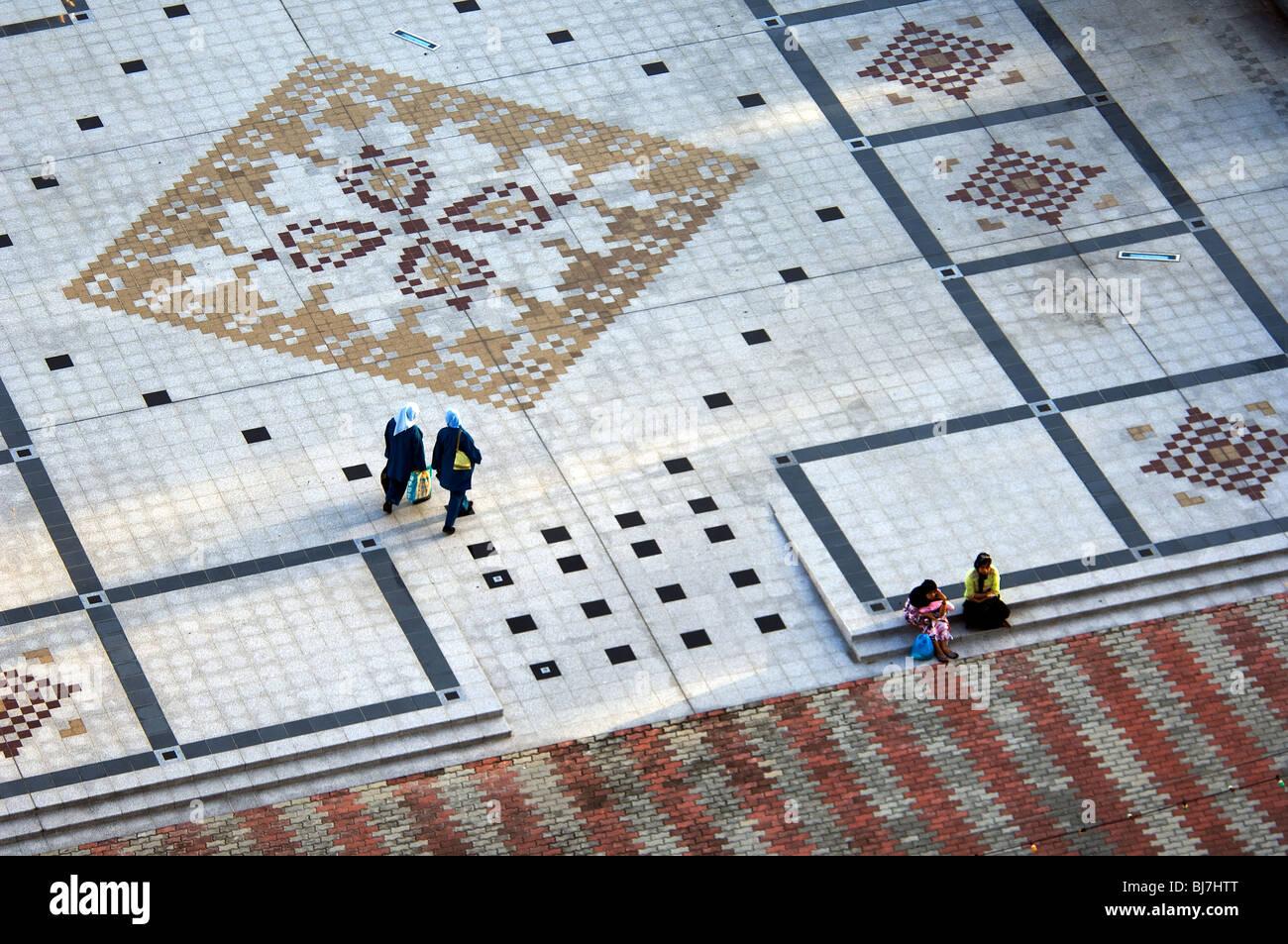 Promenade, Bandar Seri Begawan, Brunei Darussalam - Stock Image