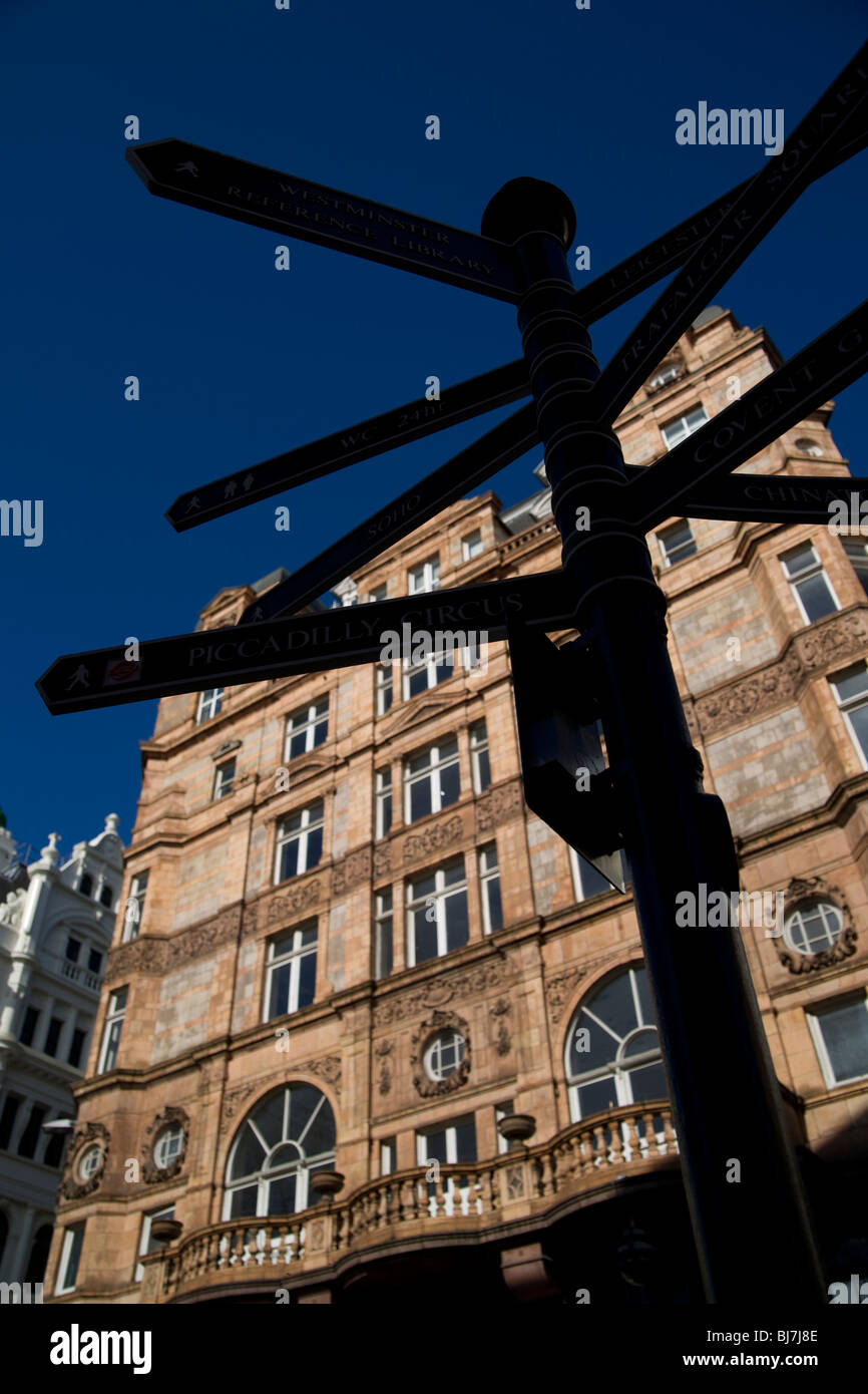 Leicester Square - Stock Image