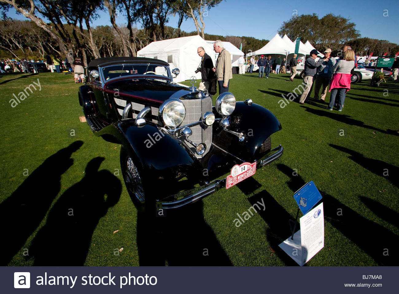 1936 Mercedes Benz 540k Cabriolet A Special Roadster Stock Photo