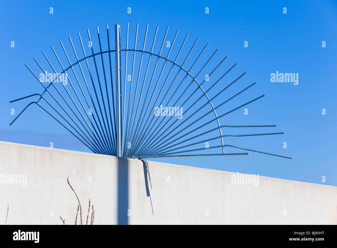 Anti climb collar Stock Photo: 28450292 - Alamy