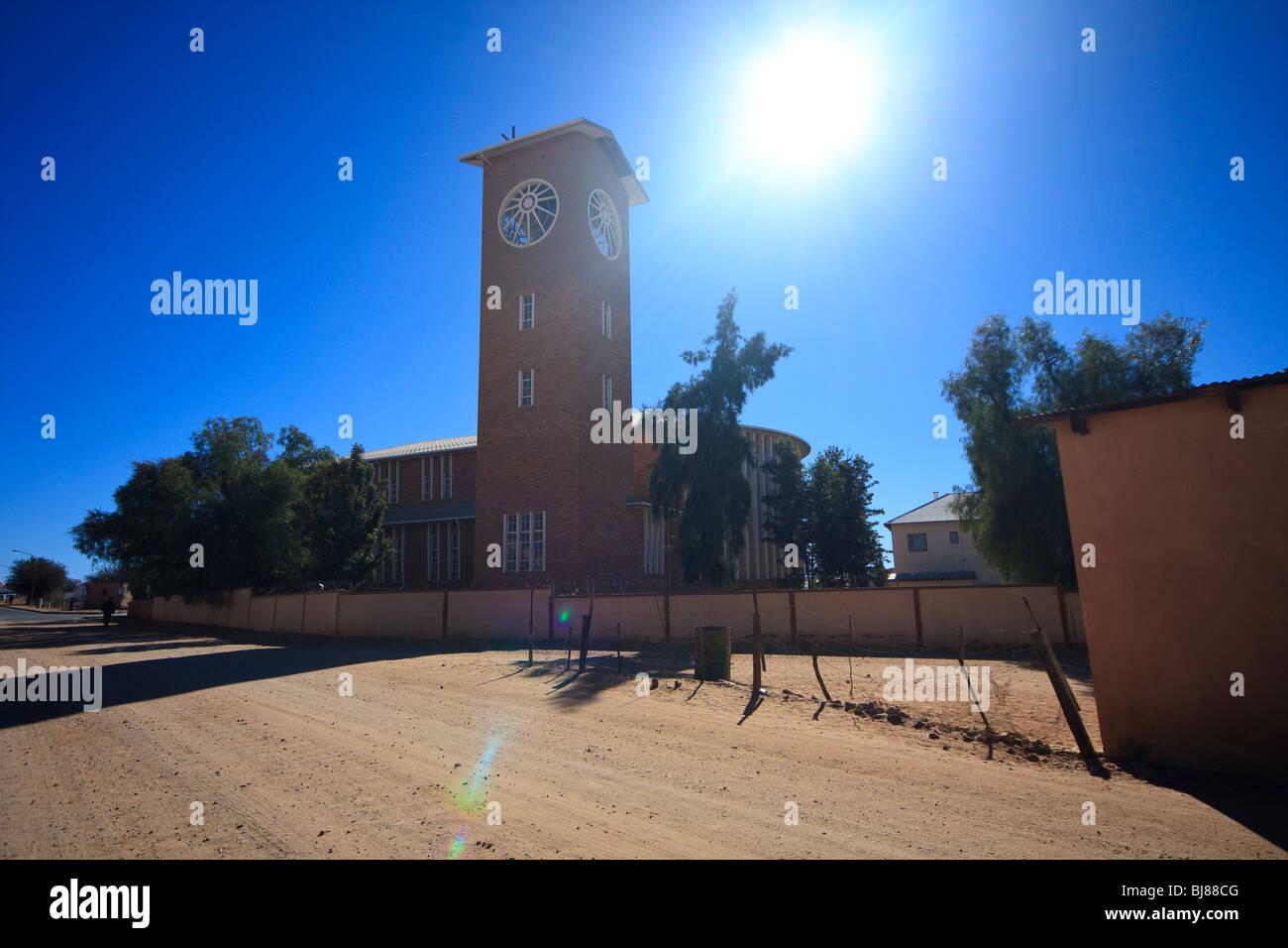 Africa Sky Christianity Churches Namibia Rehoboth - Stock Image