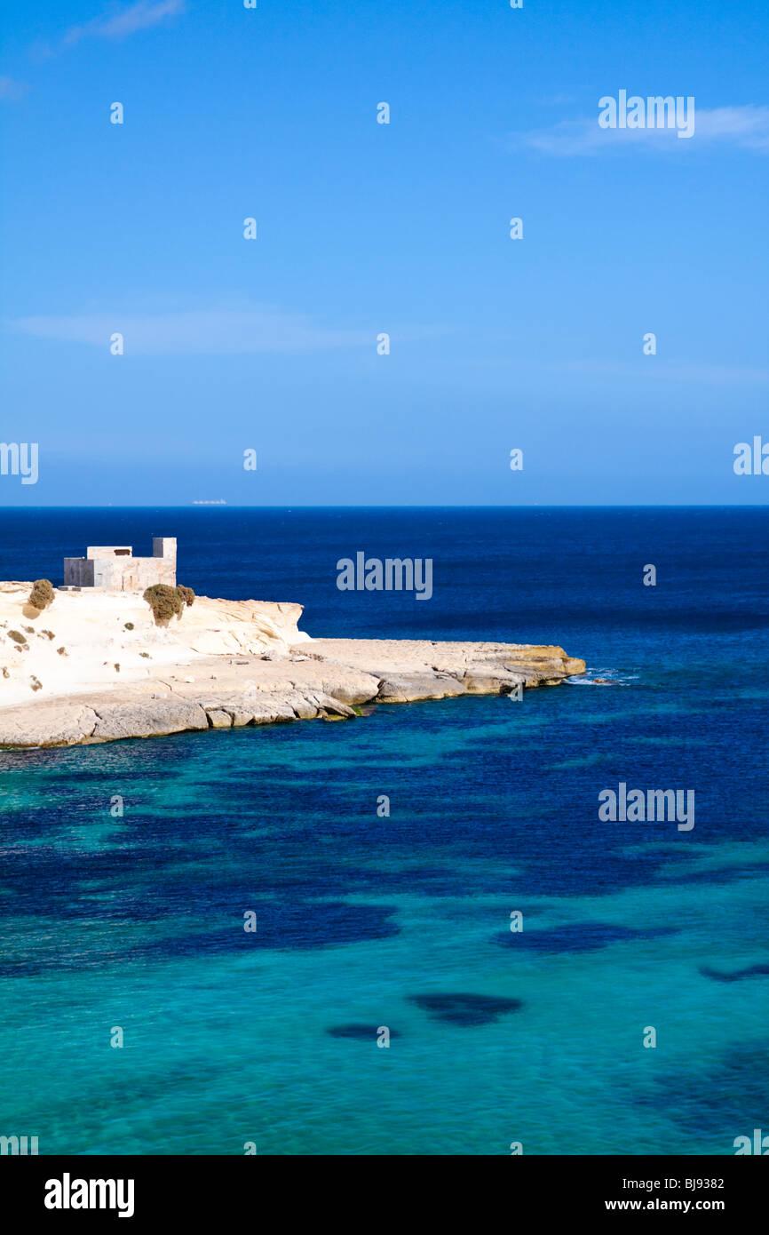 Mittelmeer, Malta - Stock Image