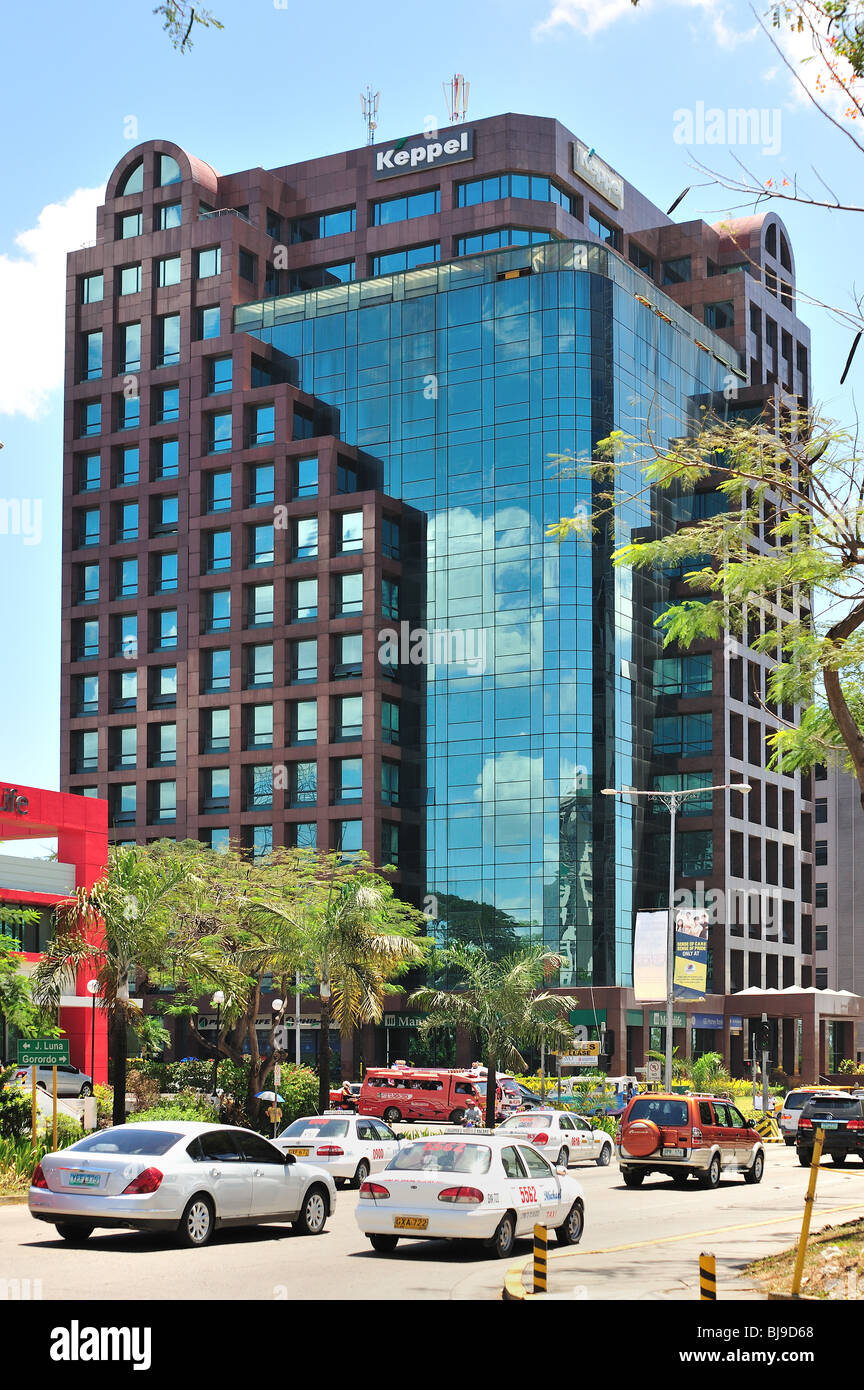 Cebu City Commercial Business District Philippines - Stock Image
