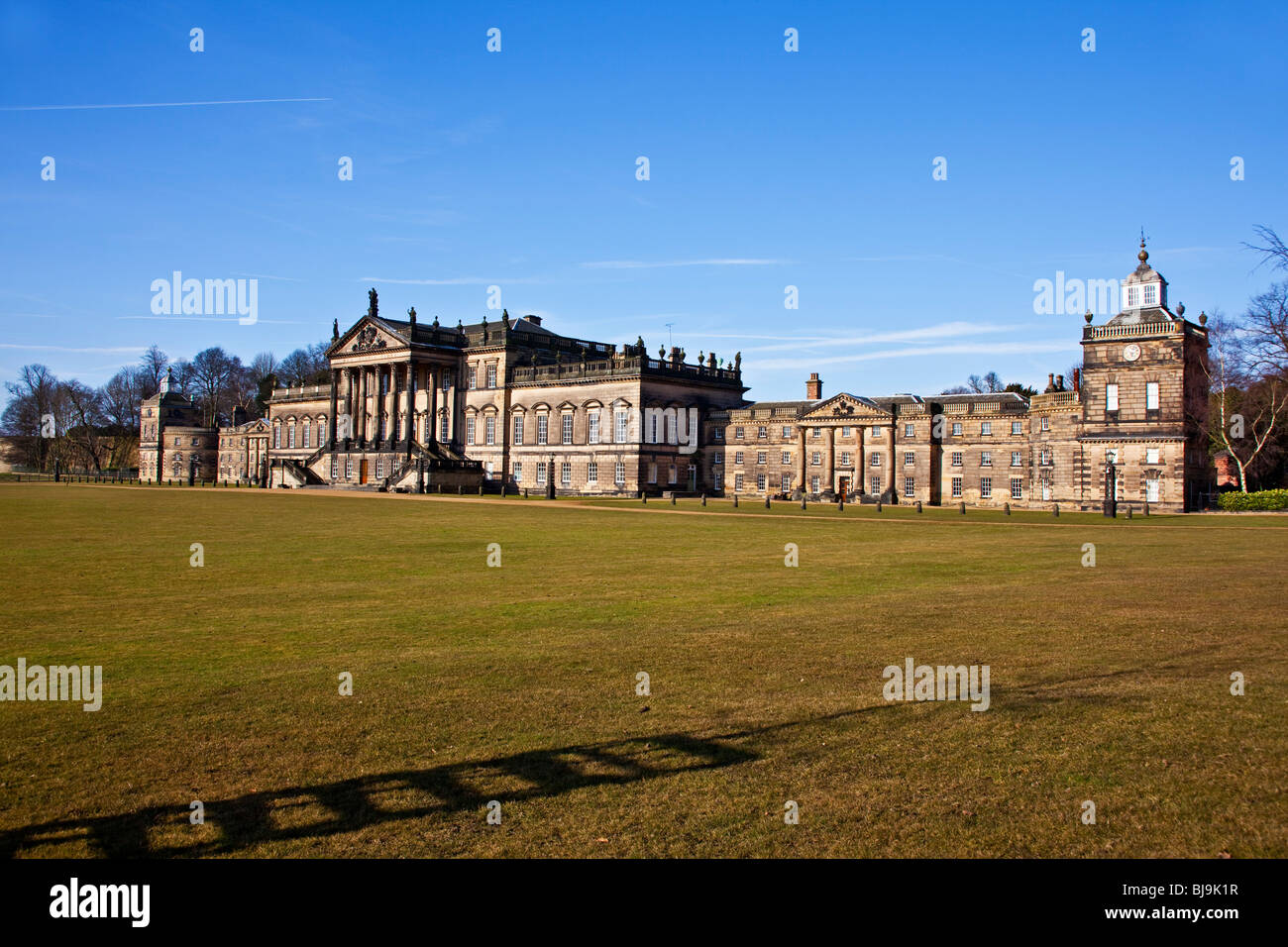 the mansion house on the wentworth woodhouse estate wentworth south Yorkshire england UK Stock Photo
