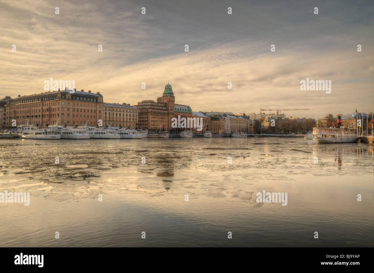 Radisson Blu Strand Hotel Building in Stockholm - Stock Image