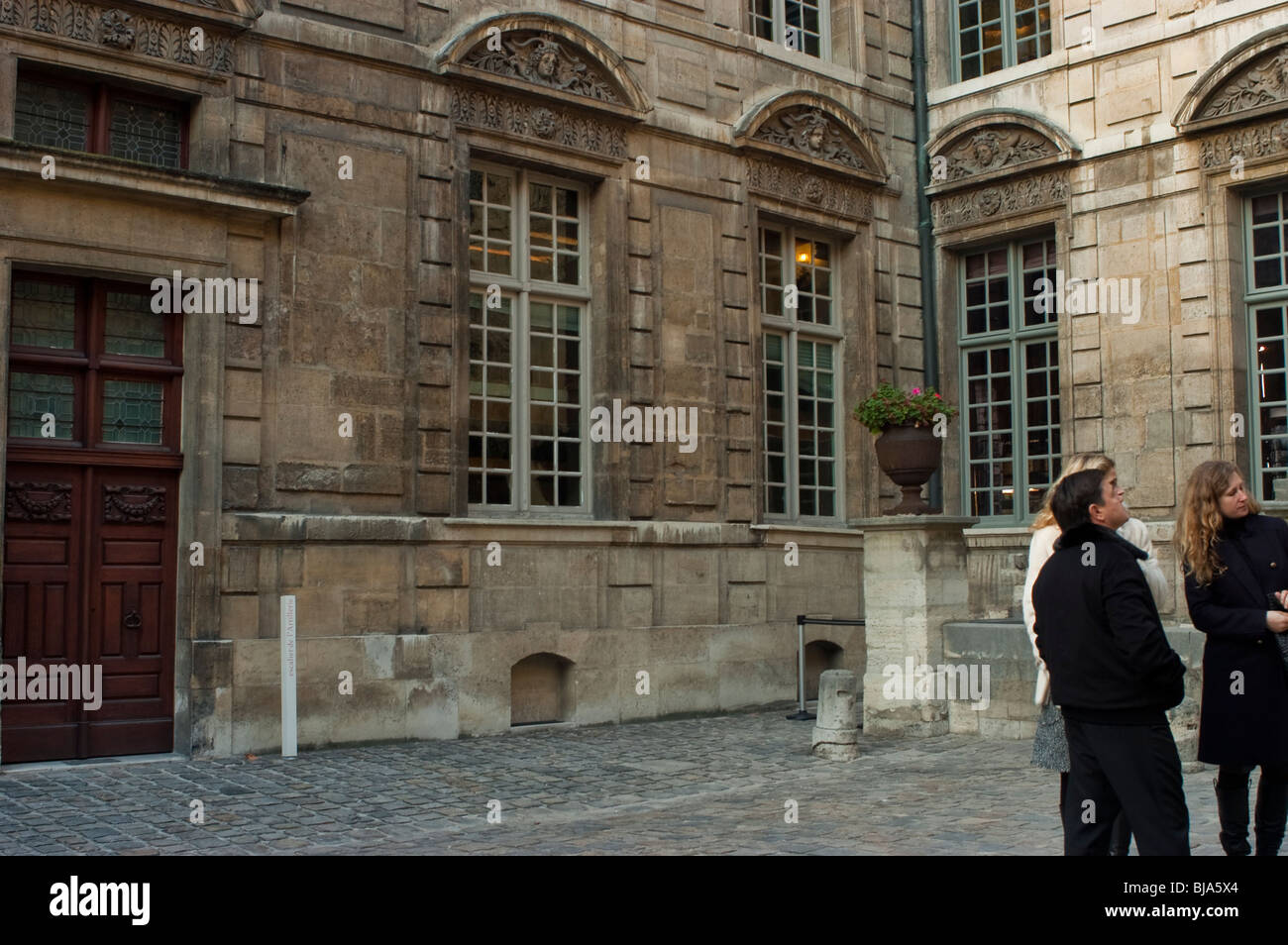 Paris, France, People Visiting City Museum, le Marais - Stock Image