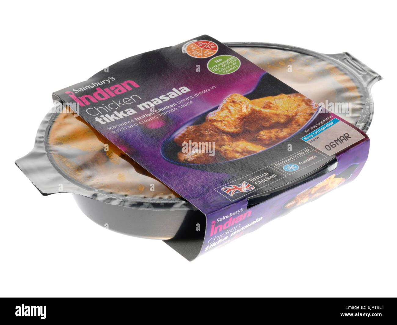 Chicken Tikka Masala Ready Meal - Stock Image
