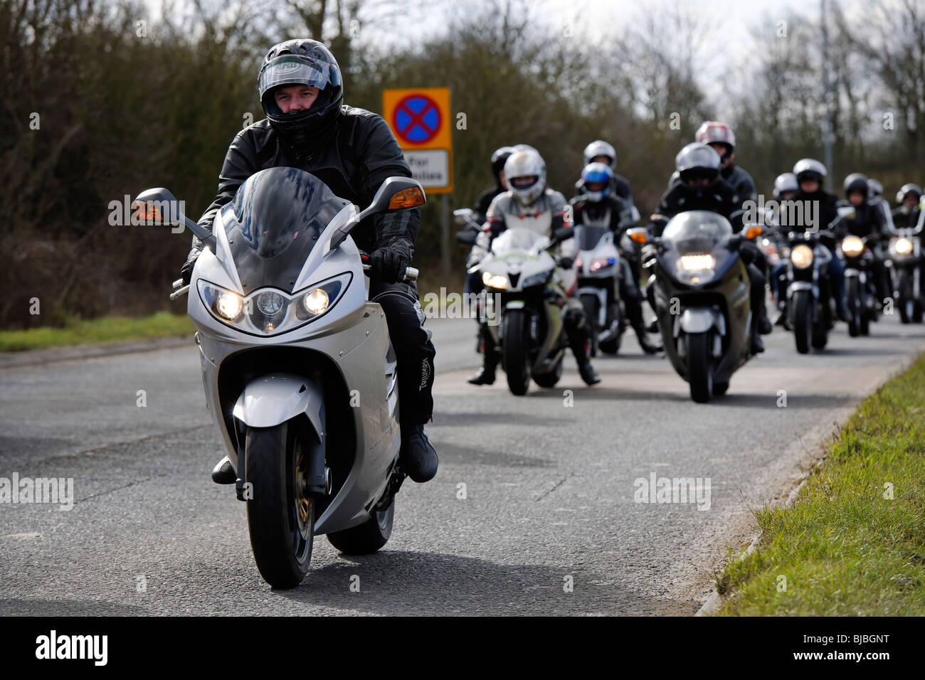 Motorcycles - Stock Image