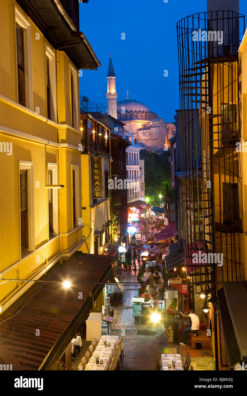 Istanbul skyline, Turkey - Stock Image
