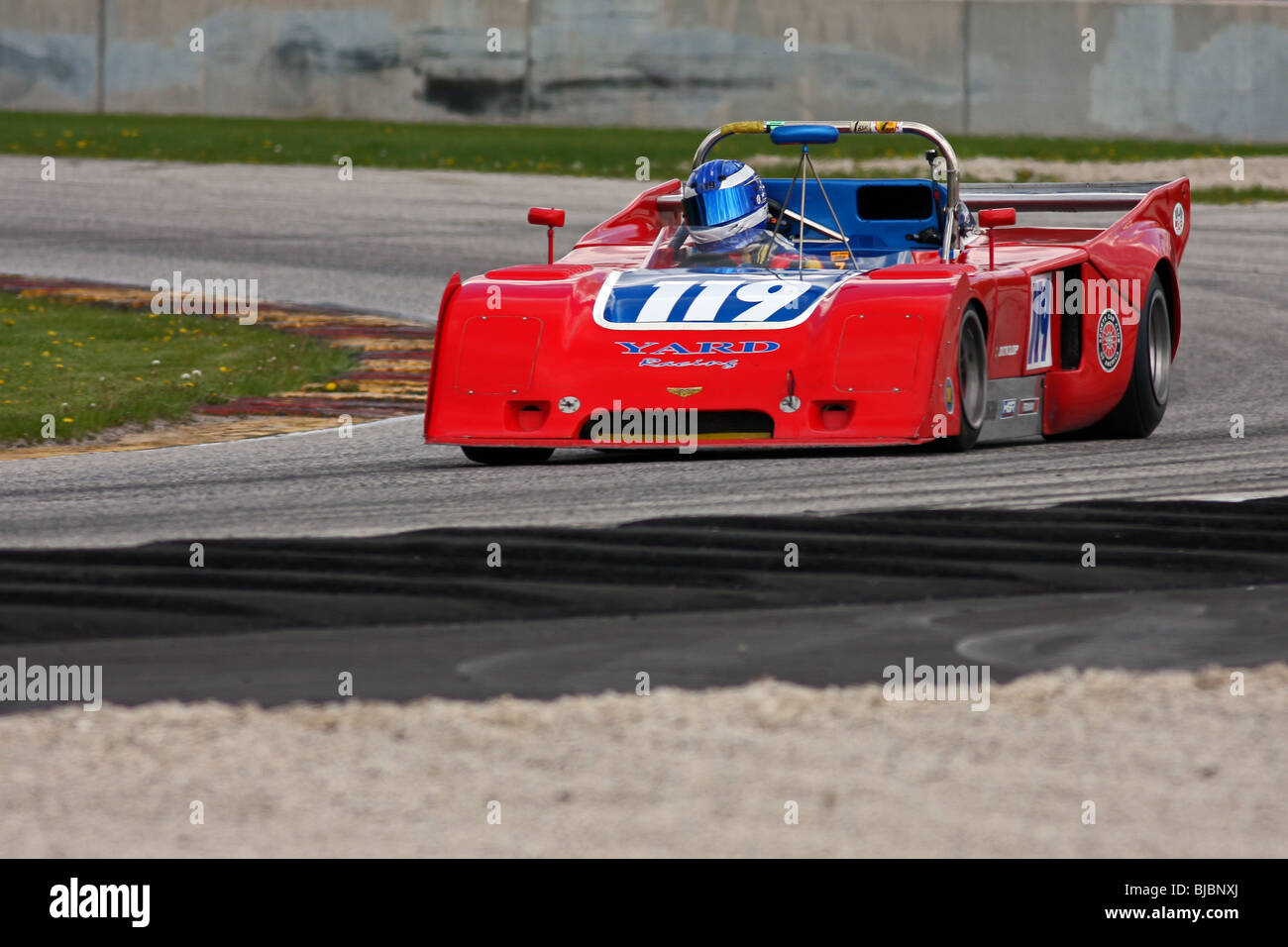 SVRA Vintage Auto Racing Road America Spring 2009 Stock Photo ...