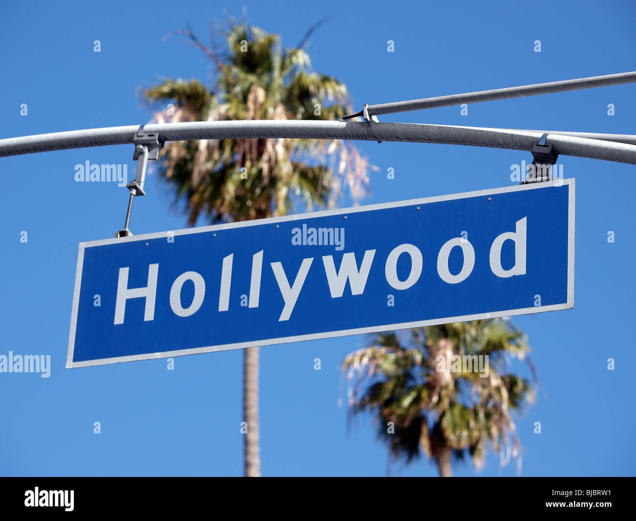 street sign hollywood stock photos & street sign hollywood stock