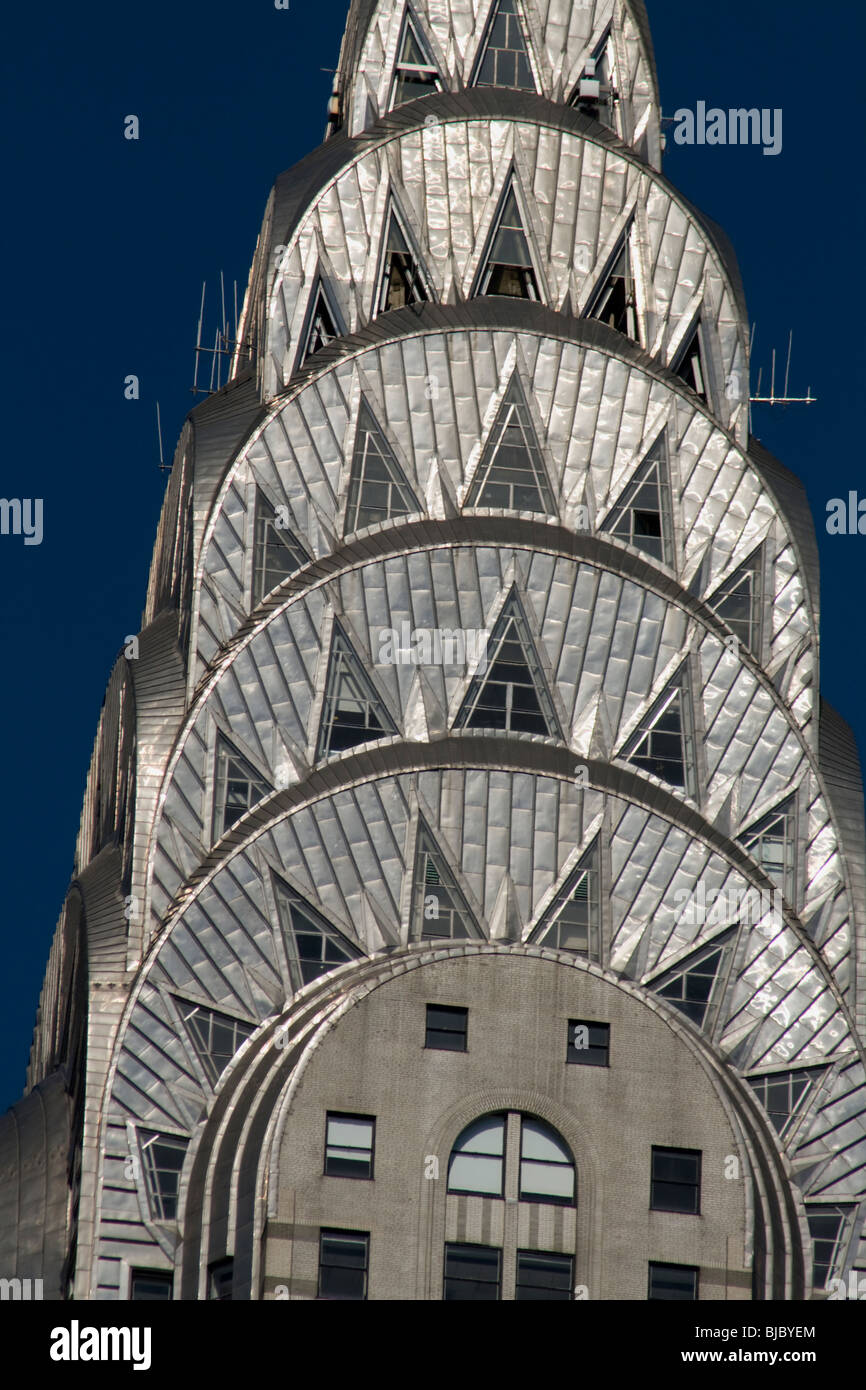 Chrysler Building New York City New York USA - Stock Image