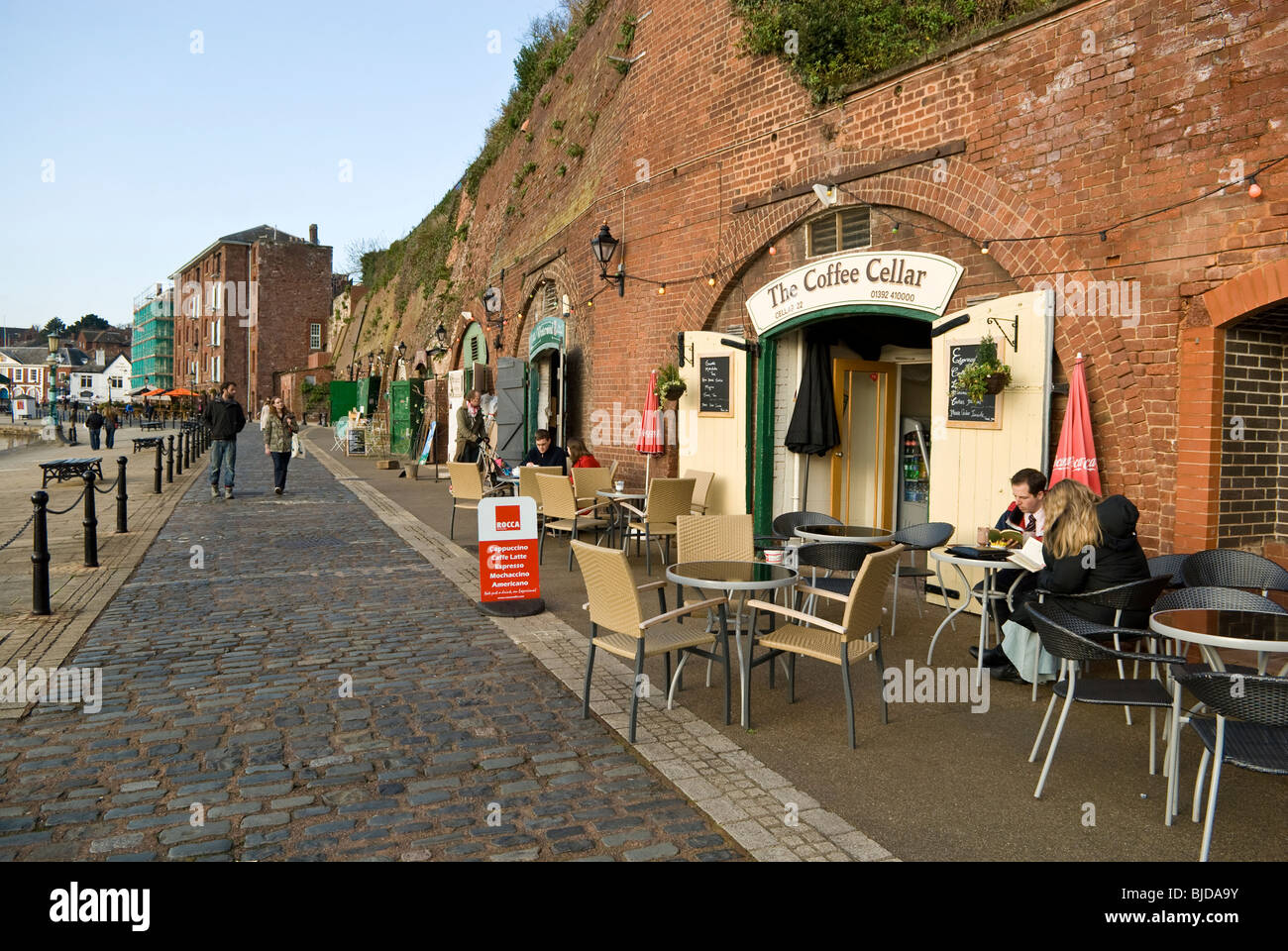 Exeter Quay - Stock Image
