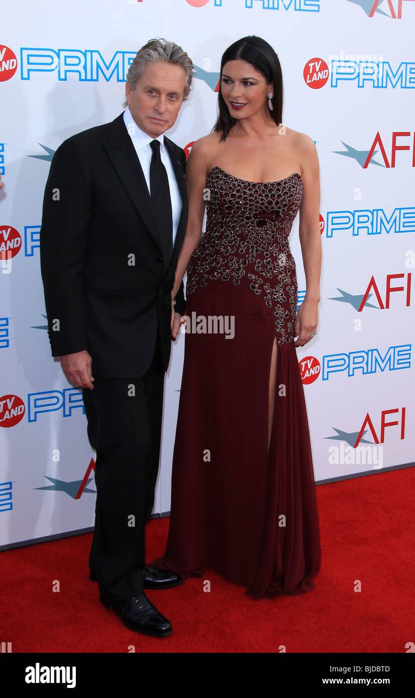 buy popular c25e8 0e5df MICHAEL DOUGLAS CATHERINE ZETA-JONES AFI LIFE ACHIEVEMENT AWARD A TRIBUTE  TO MICHAEL DOUGLAS CULVER