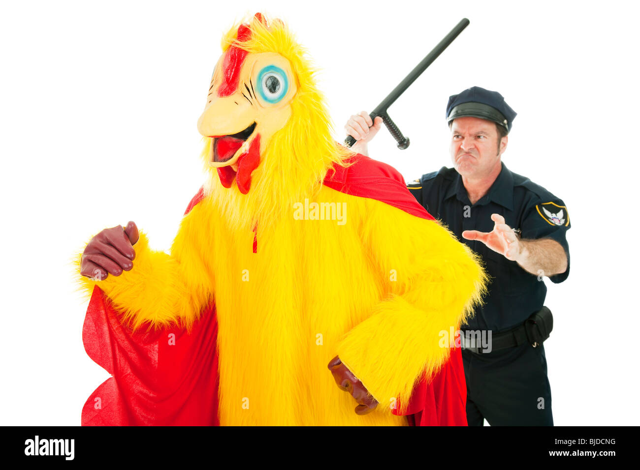 Funny Chicken Police: Funny Man Eating Chicken Stock Photos & Funny Man Eating