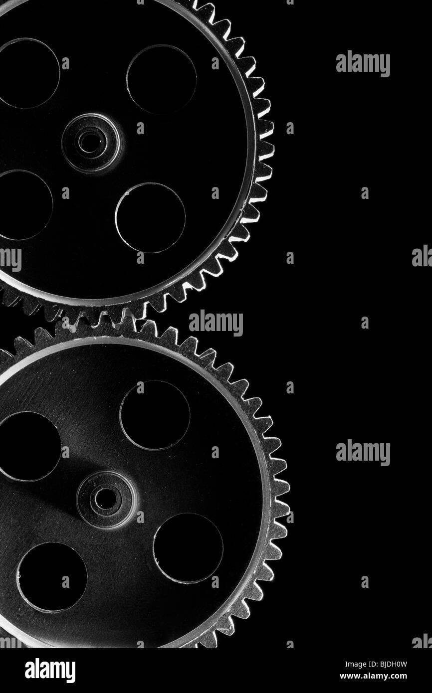 gear wheels - Stock Image