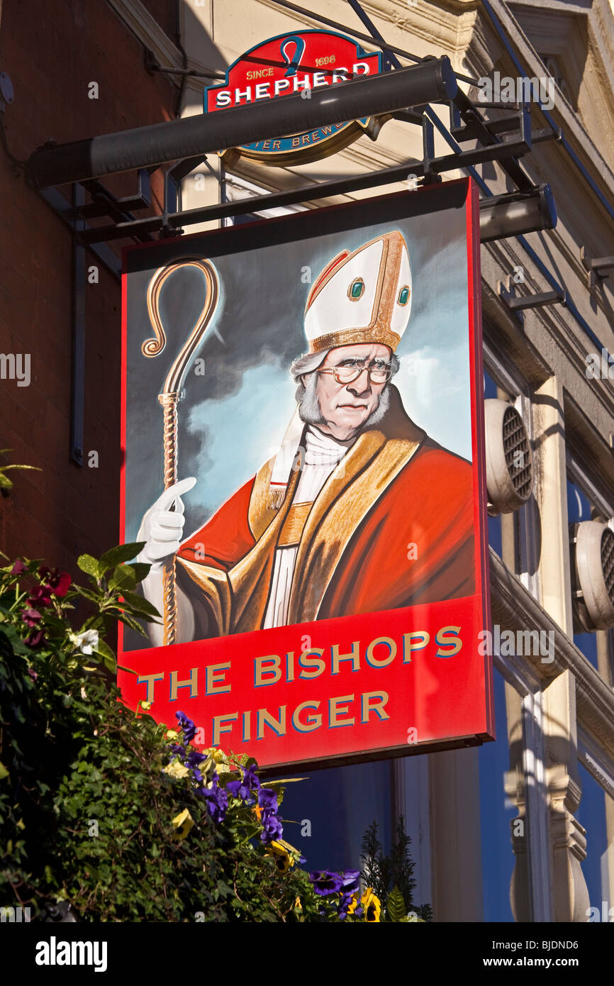 City of London ;West Smithfield ; The Bishop's Finger ; December 2OO9 - Stock Image