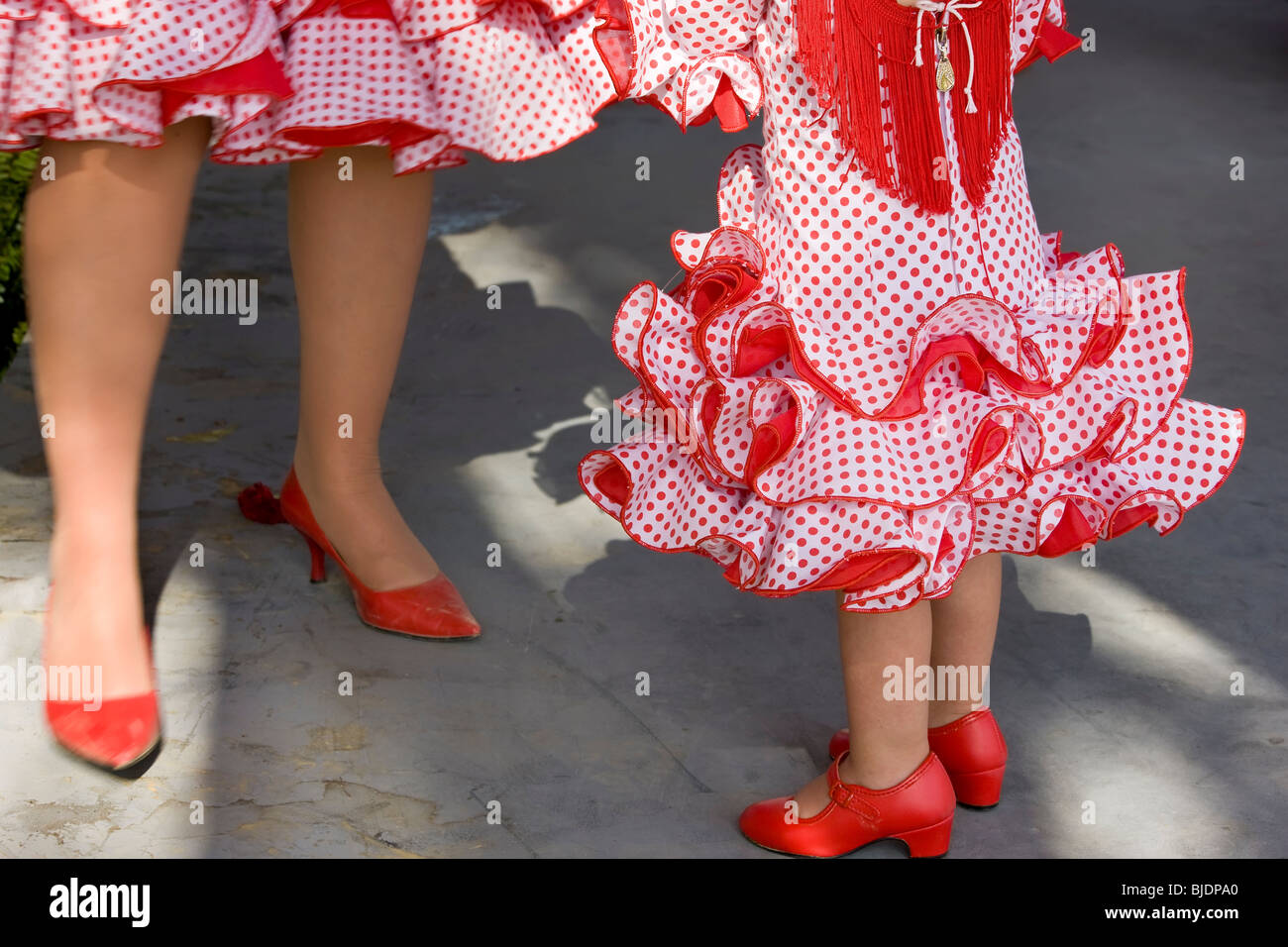 Flamenco dancing, Andalucia, Spain - Stock Image