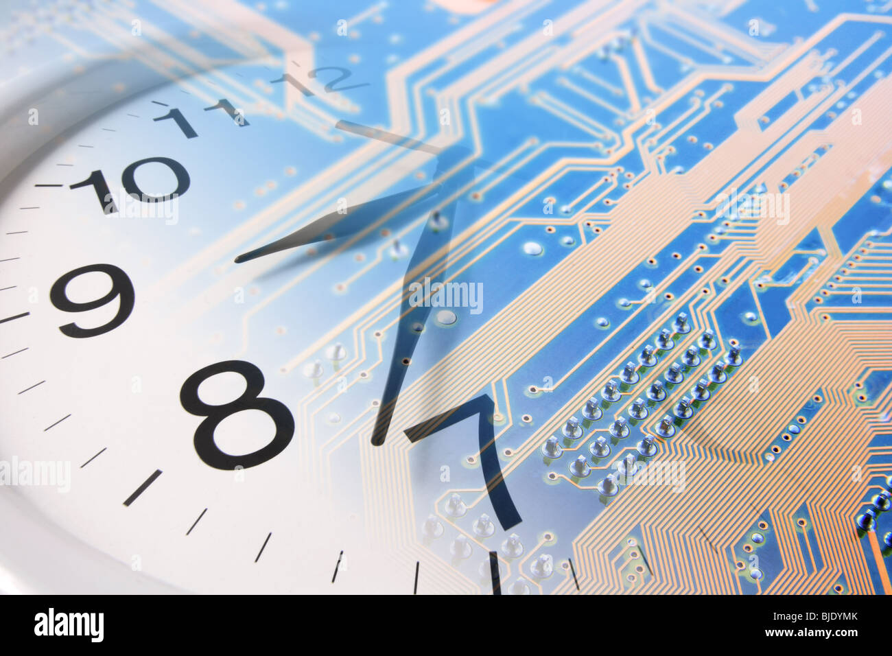 Clock Parts Stock Photos Images Alamy Circuit Board Design Square Wall And Image