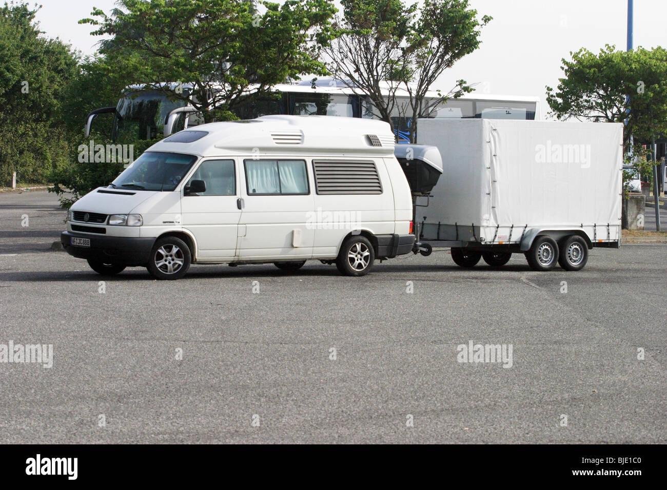 Volkswagen camper - Stock Image