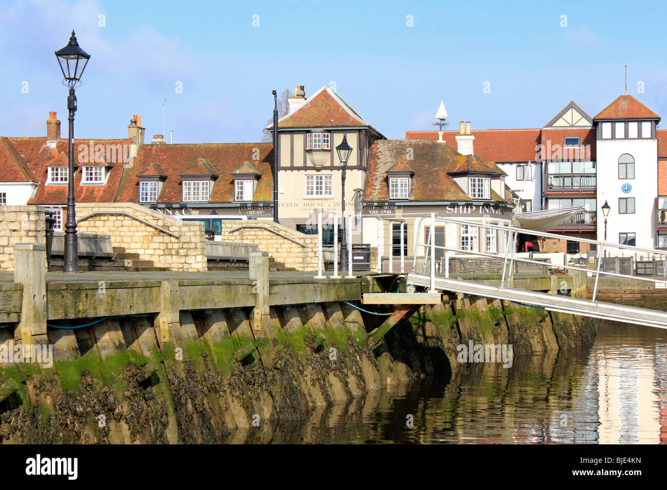 Lymington new forest town centre hampshire england uk gb - Stock Image