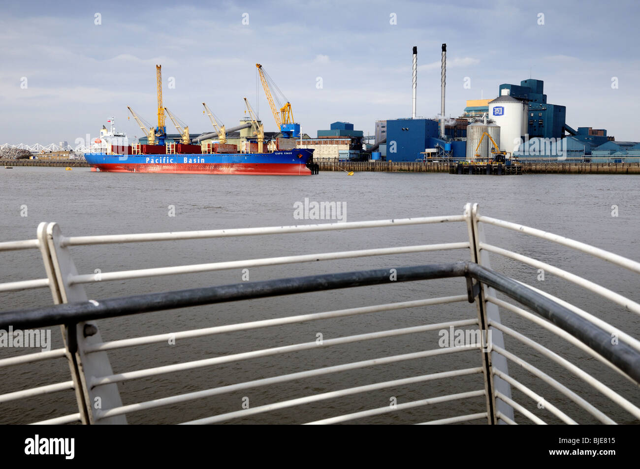 Tate and Lyle Sugar Refinery,Silvertown - Stock Image