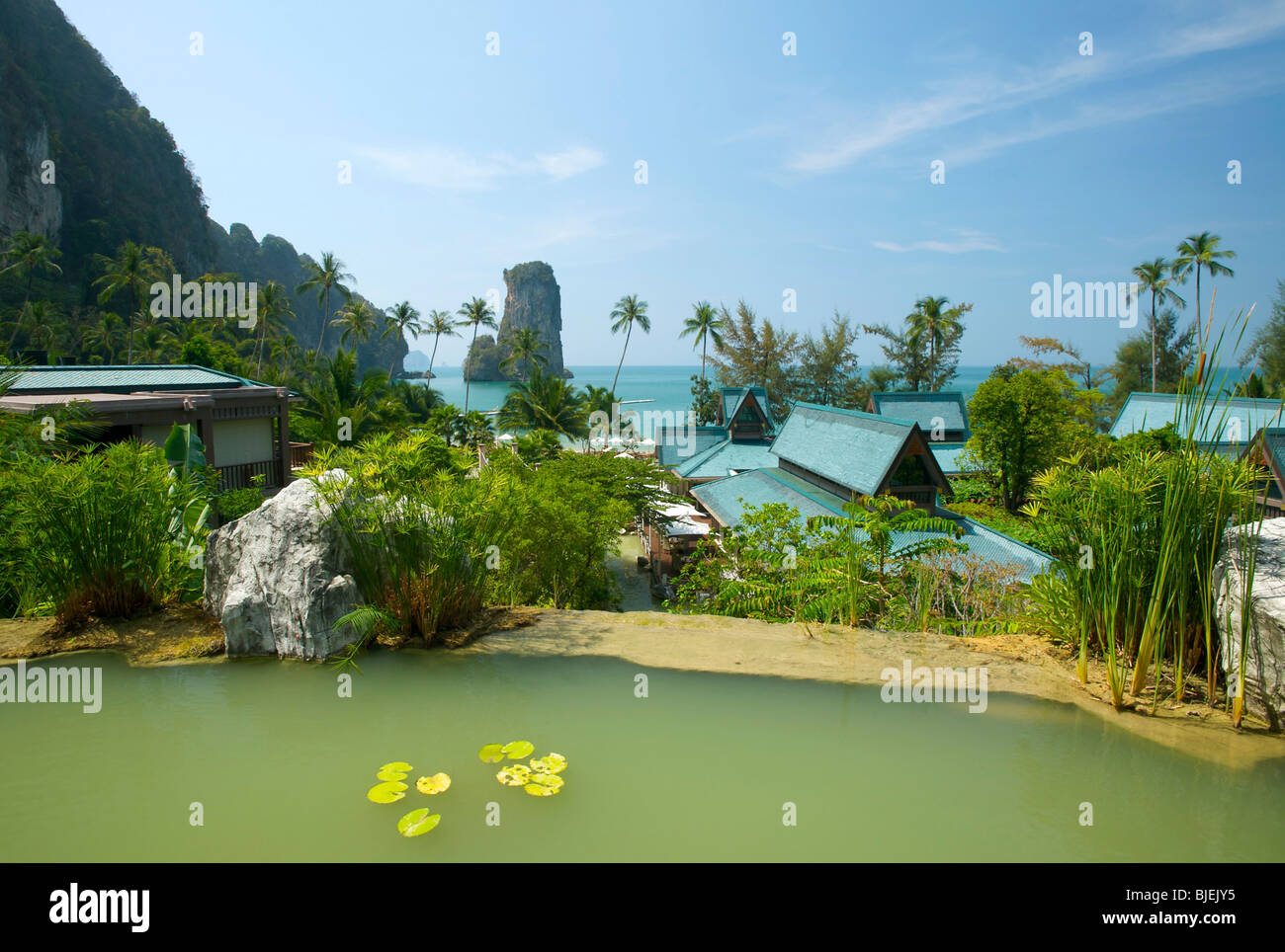 Centara Resort, Krabi, Thailand Stock Photo