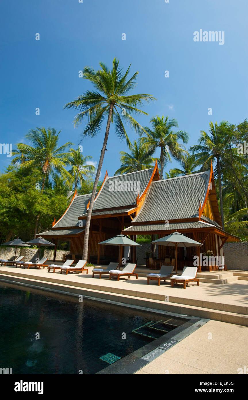 Amanpuri Resort, Phuket, Thailand Stock Photo