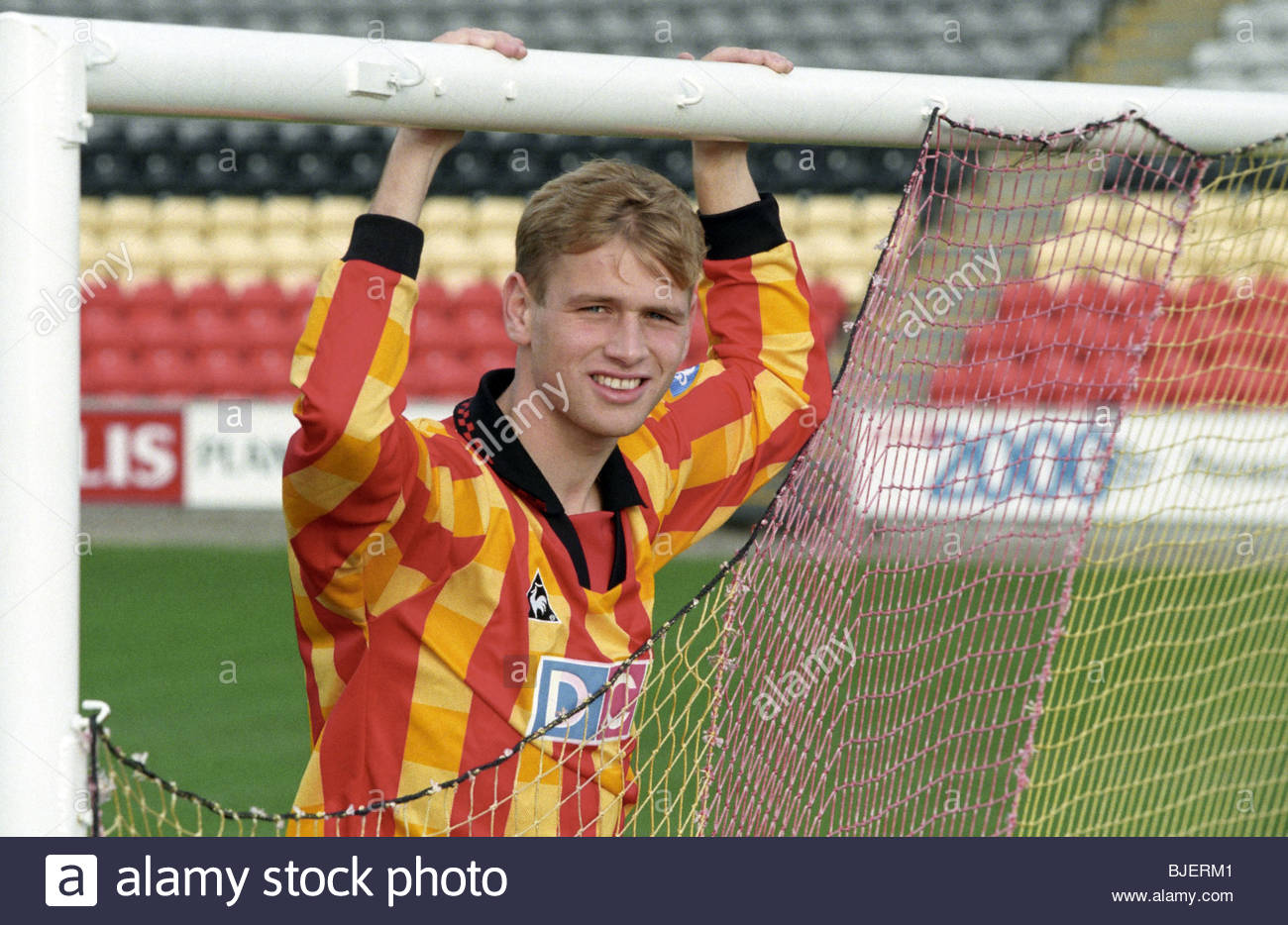 NOVEMBER 1996 FIRHILL - GLASGOW Partick Thistle's Charlie Adams. - Stock Image