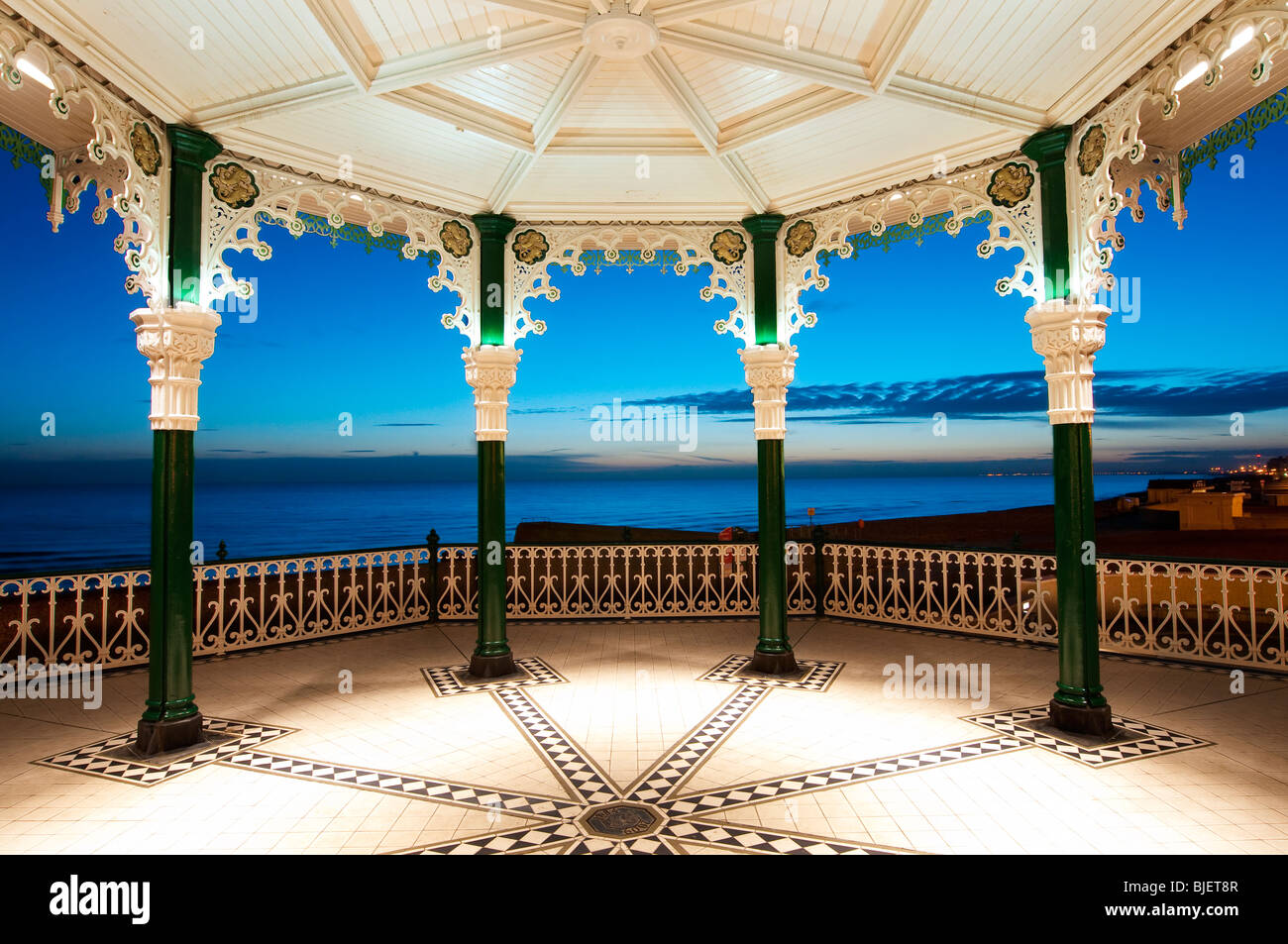 Bandstand, Brighton, West Sussex, England, UK, Europe - Stock Image