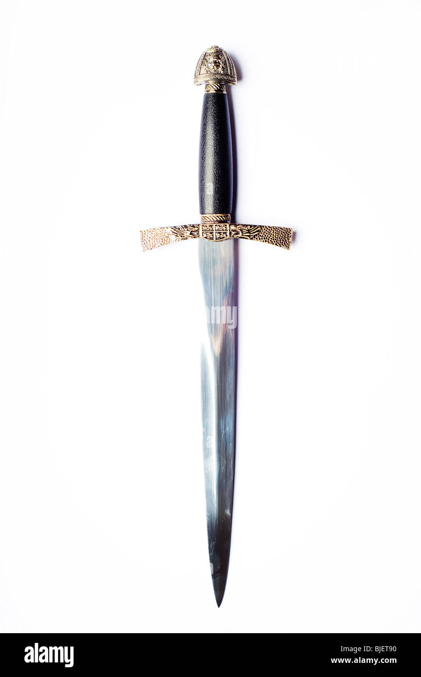 medieval dagger - Stock Image