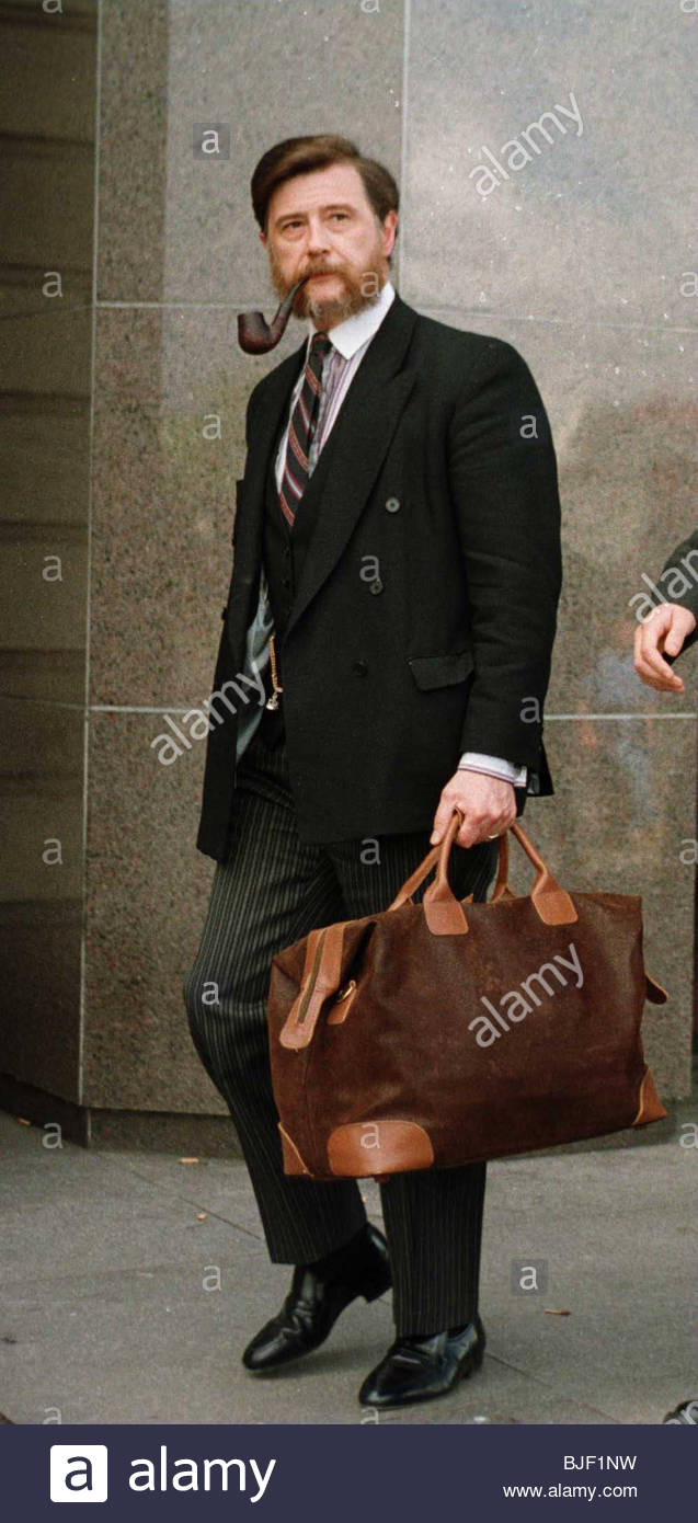 05/09/97 Rangers vice-chairman Donald Findlay QC - Stock Image