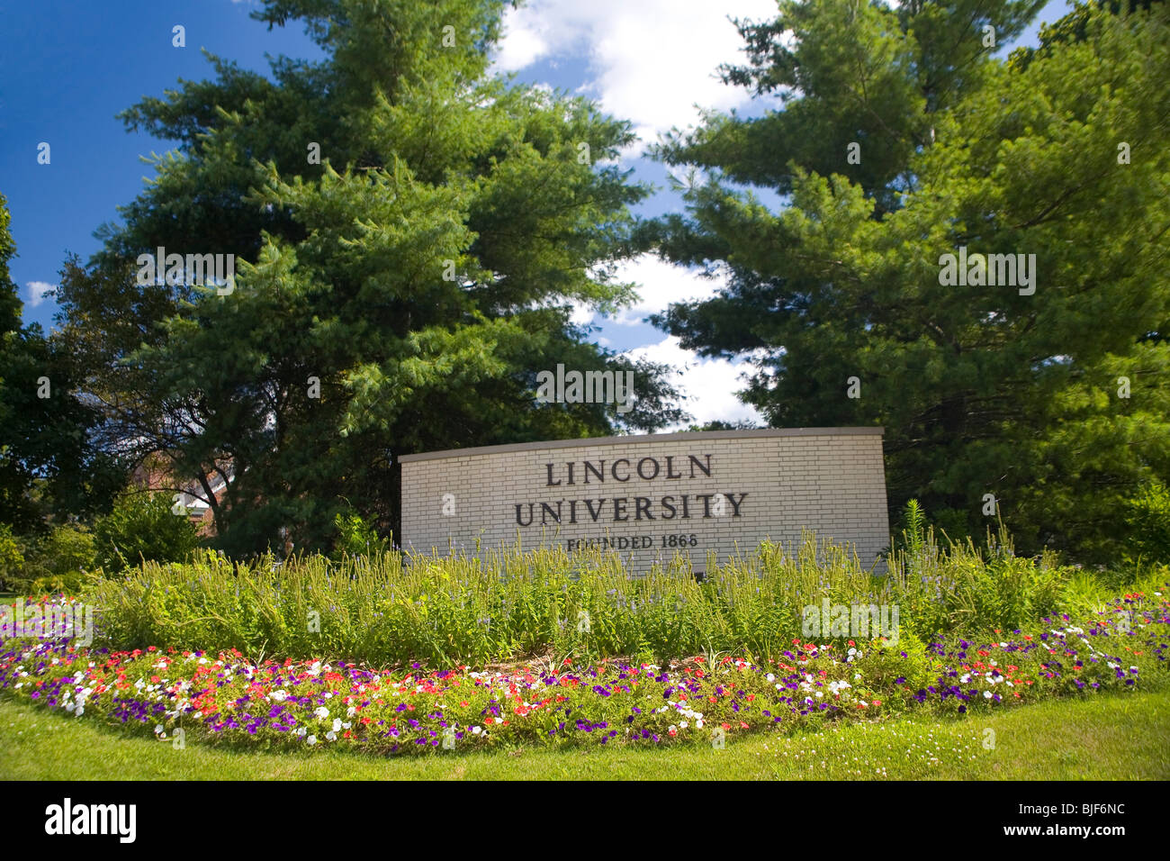 Lincoln University - Stock Image