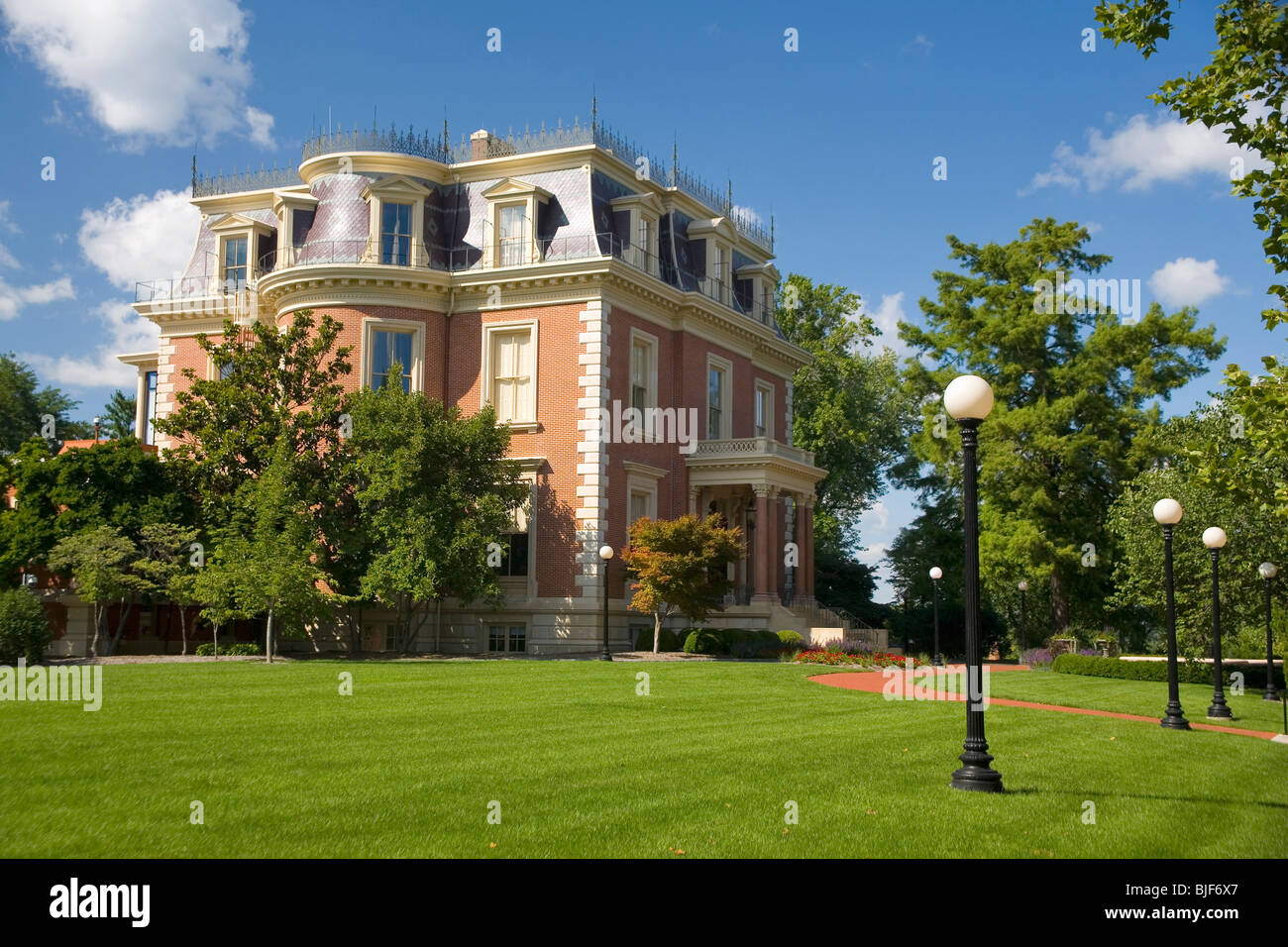Governor's Mansion - Stock Image