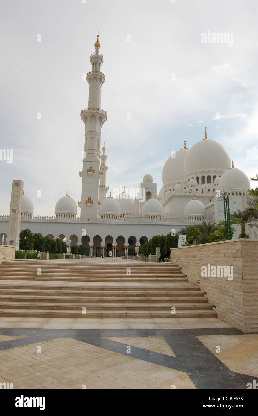 Sheikh Zayed Bin Sultan Al Nahyan Mosque, Abu Dhabi - Stock Image