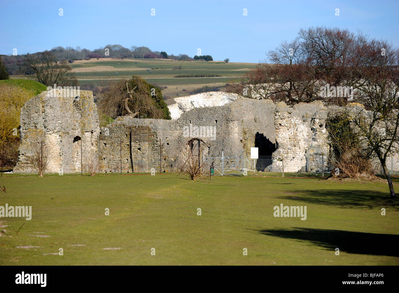 Lewes Priory was founded between 1078 and 1082 & dedicated to St Pancras, it became one of the wealthiest monasteries - Stock Image