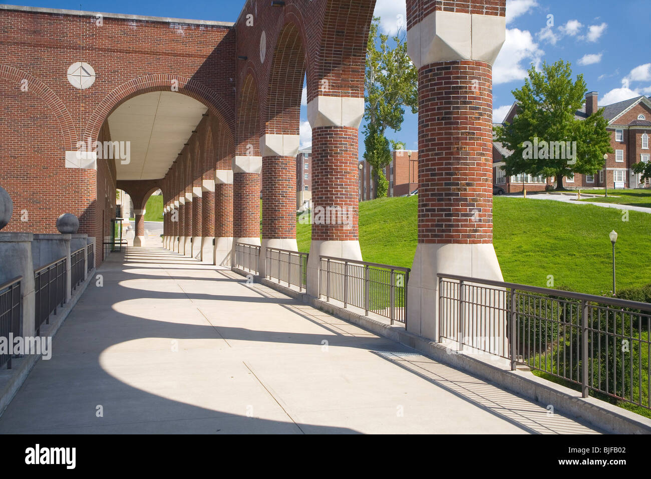 Lincoln University - Inman E. Page Library - Stock Image