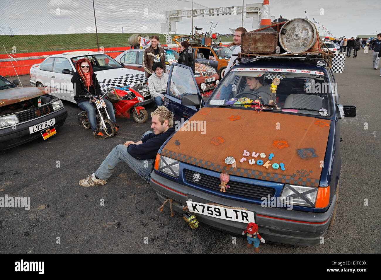 Collection of alternative Rat look cars Stock Photo: 28613198 - Alamy