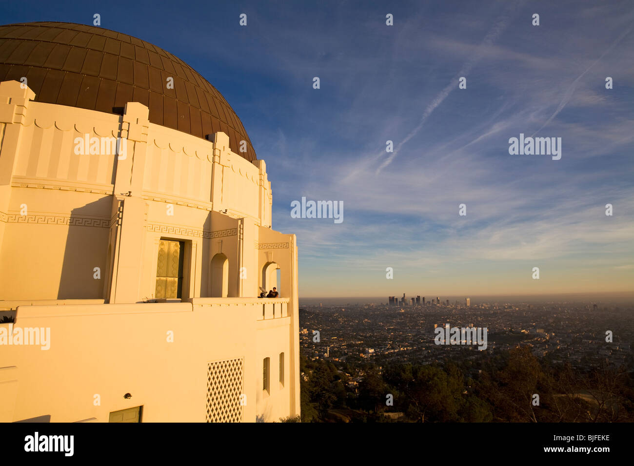 Griffith Observatory Los Angeles Stock Photos Amp Griffith