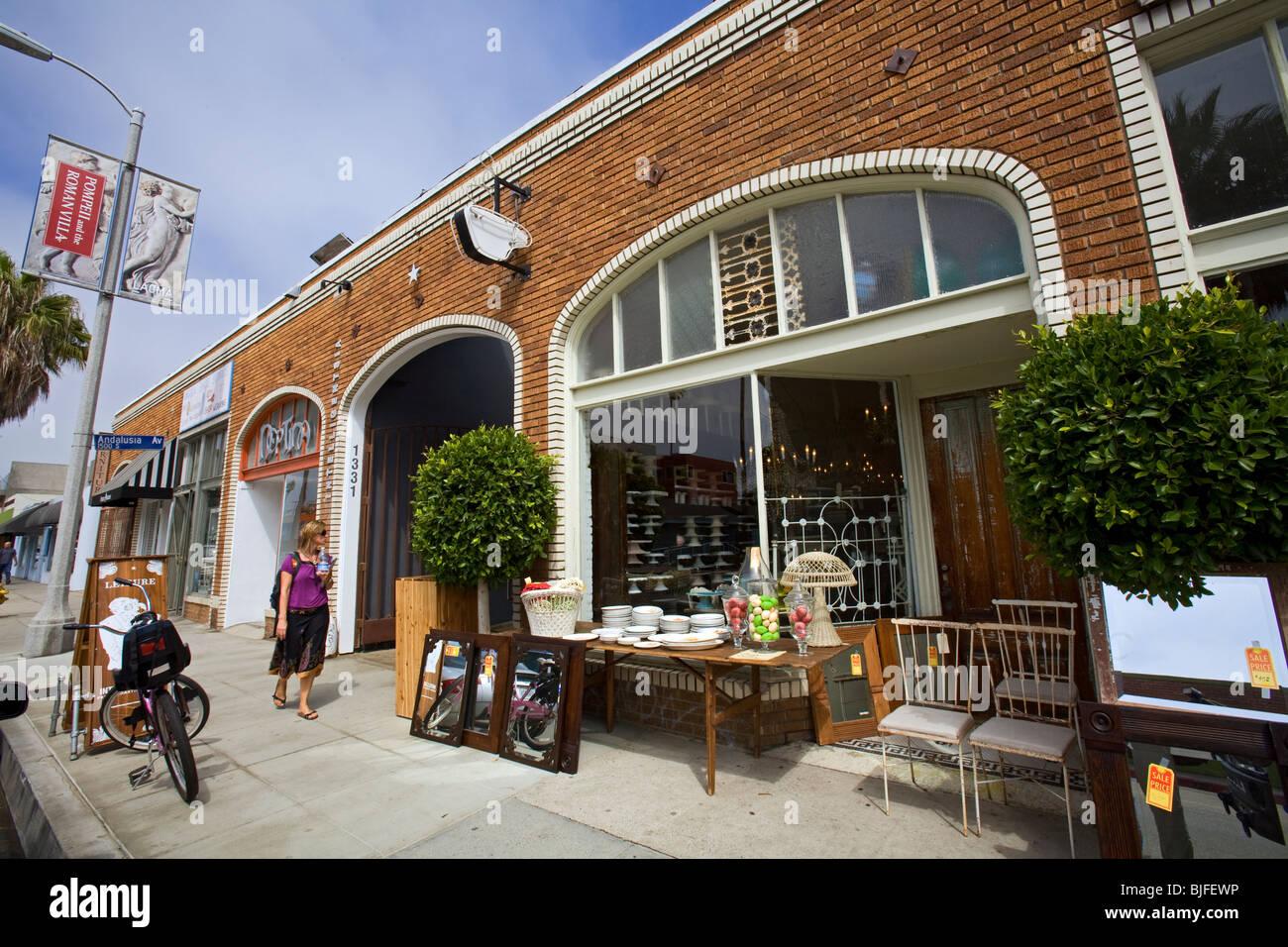 antique stores los angeles Antique Store, Abbot Kinney Blvd, Venice Beach, Los Angeles Stock  antique stores los angeles