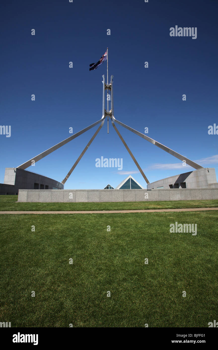 Canberra-New Parliament House-ACT-Australia - Stock Image