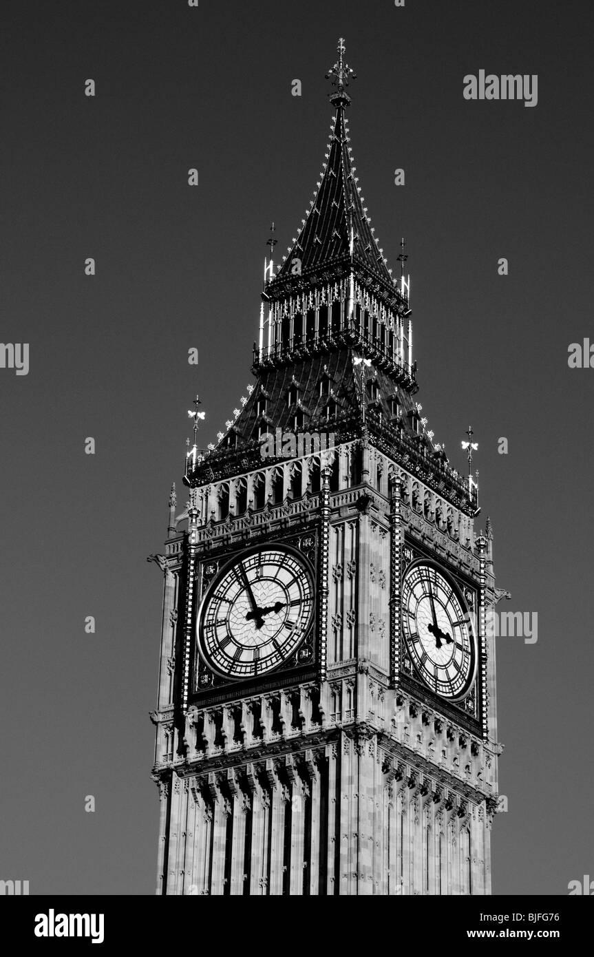 Big Ben, London, UK - Stock Image