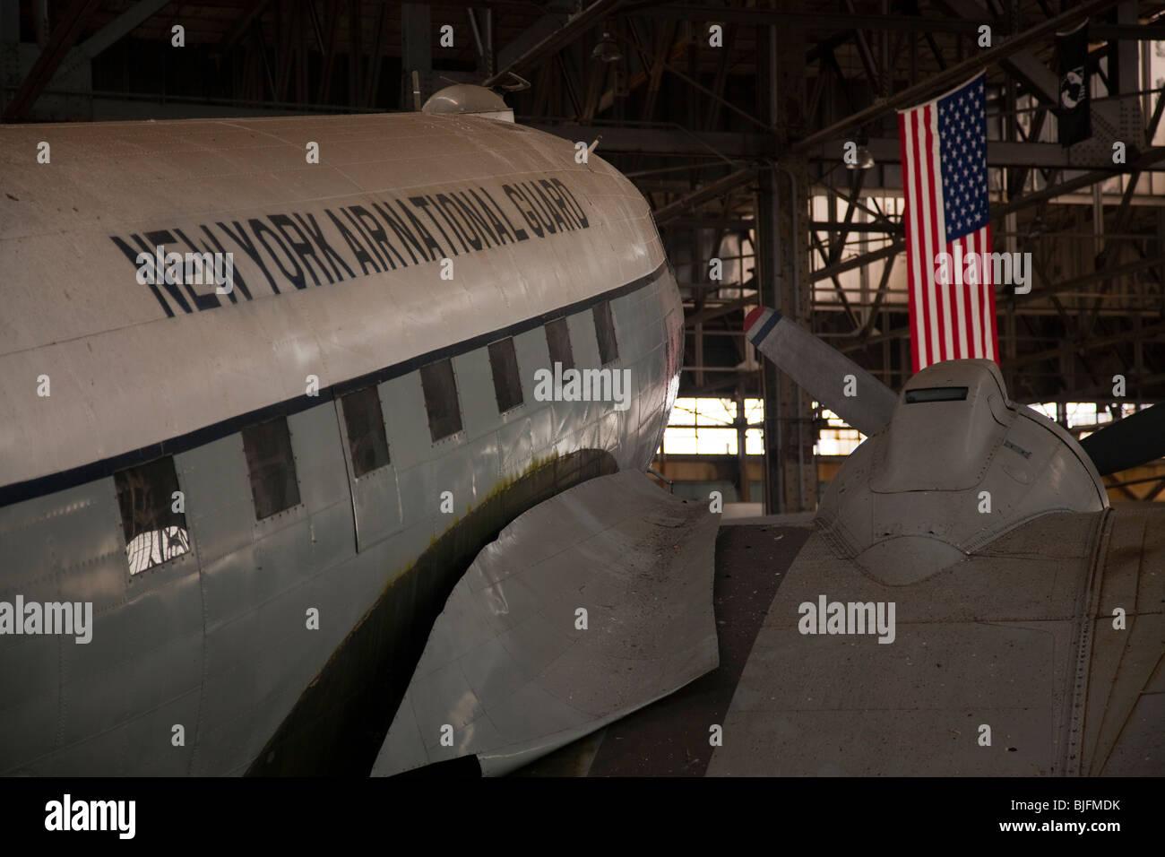 New York Air National Guard plane - Stock Image