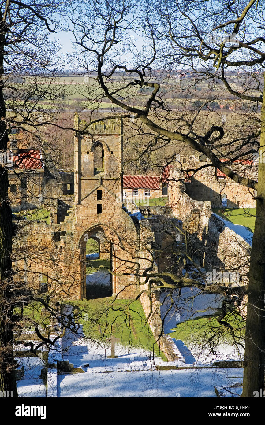 Mount Grace Priory, North Yorkshire, England - Stock Image