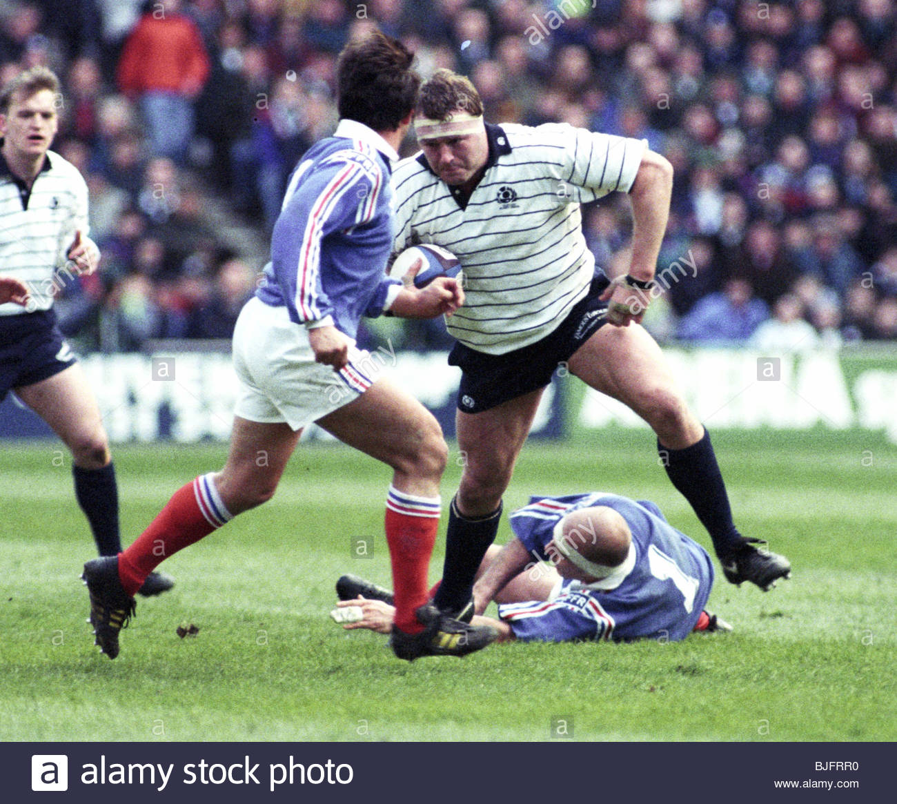 20/03/94 FIVE NATIONS CHAMPIONSHIP SCOTLAND V FRANCE (12-20) MURRAYFIELD - EDINBURGH Scotland's Peter Walton - Stock Image