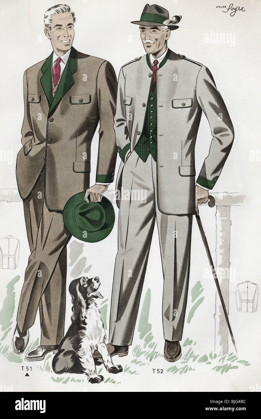 1950s Mens Fashion High Resolution Stock Photography And Images Alamy