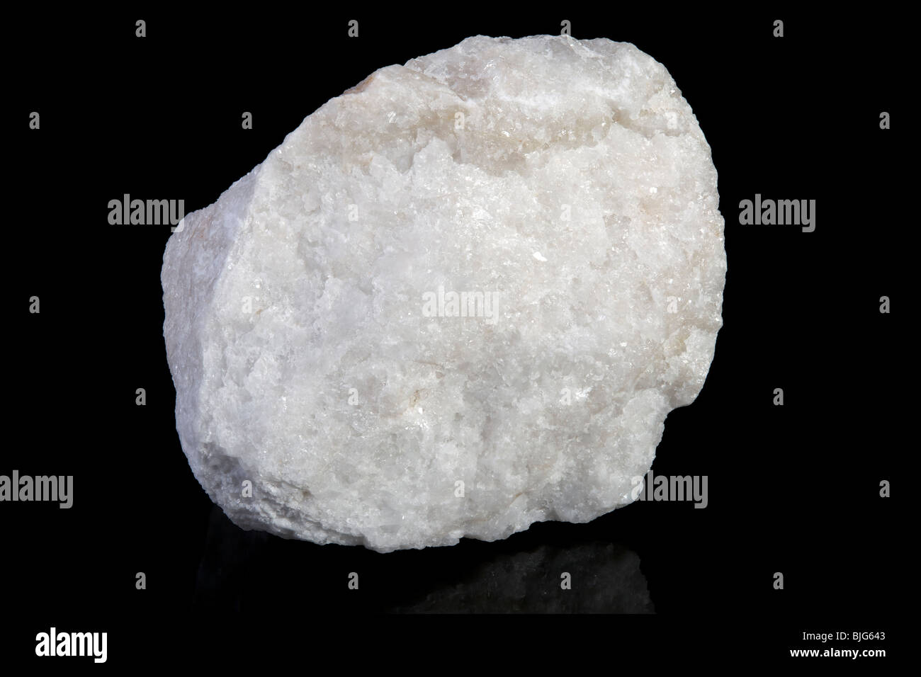 Barite AKA: Baryte ia a mineral consisting of barium sulfate - Stock Image