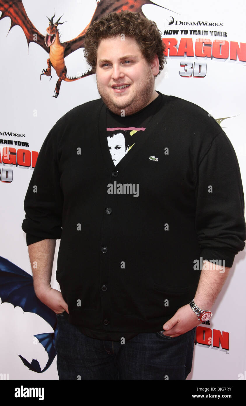Jonah Hill Train Dragon Los High Resolution Stock Photography and
