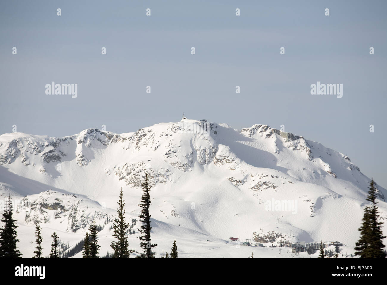 Whistler mountain. - Stock Image